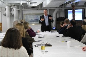 speaking on leadership