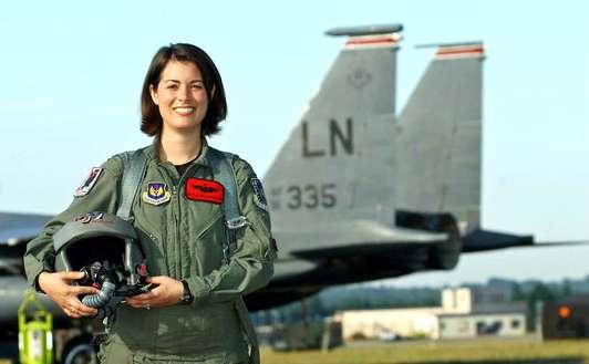 Female Fighter Pilot Speakers