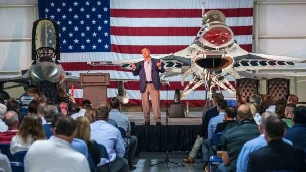 Fighter Pilot Keynote Speaker