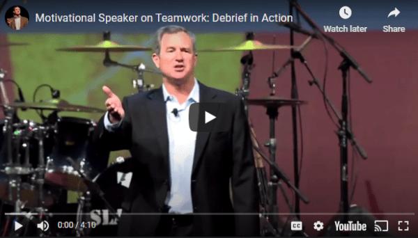 virtual keynote speech on leadership